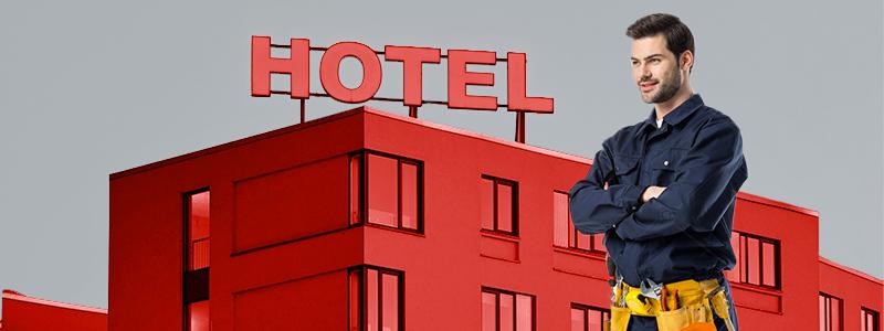 manutenzione hotel