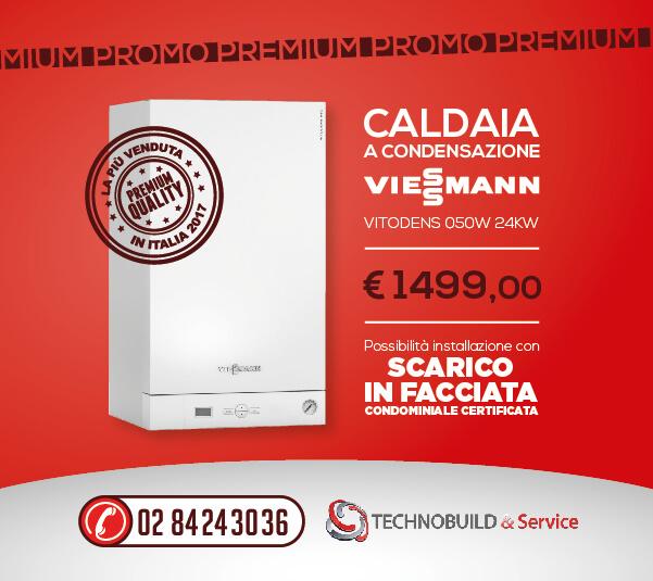 Promo Premium Caldaia Viessmann Gruppo Technobuild